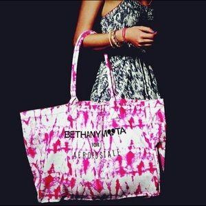 Large Bethany Mota for Aeropostale Tie Dye Bag